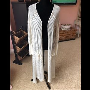 Free People Sweater Duster